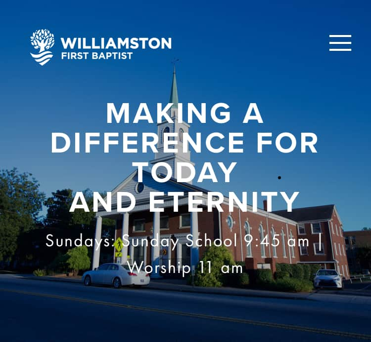 Williamston First Baptist Church
