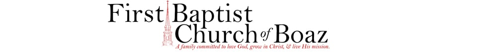 First Baptist Church of Boaz